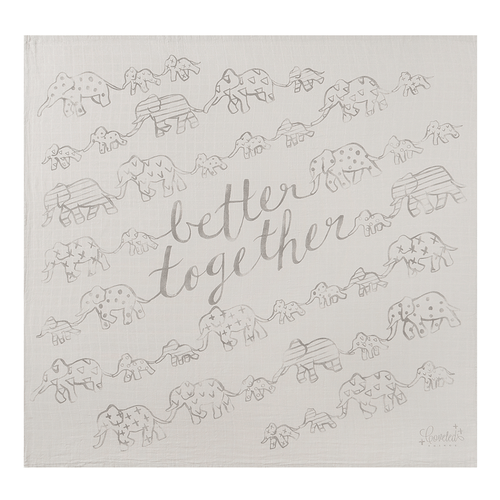 'Better Together' Organic Swaddle Scarf - Project Nursery