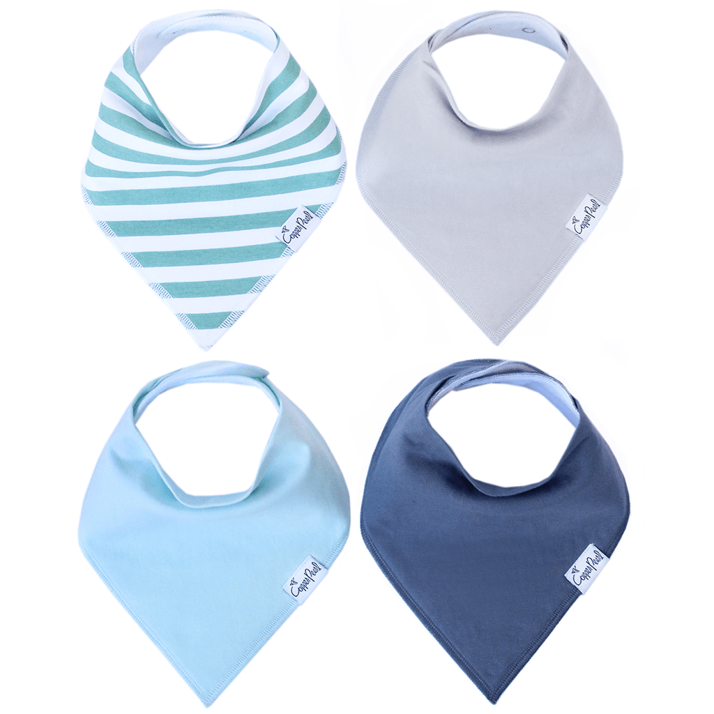 Bandana Bibs in Oxford Set  - The Project Nursery Shop - 1
