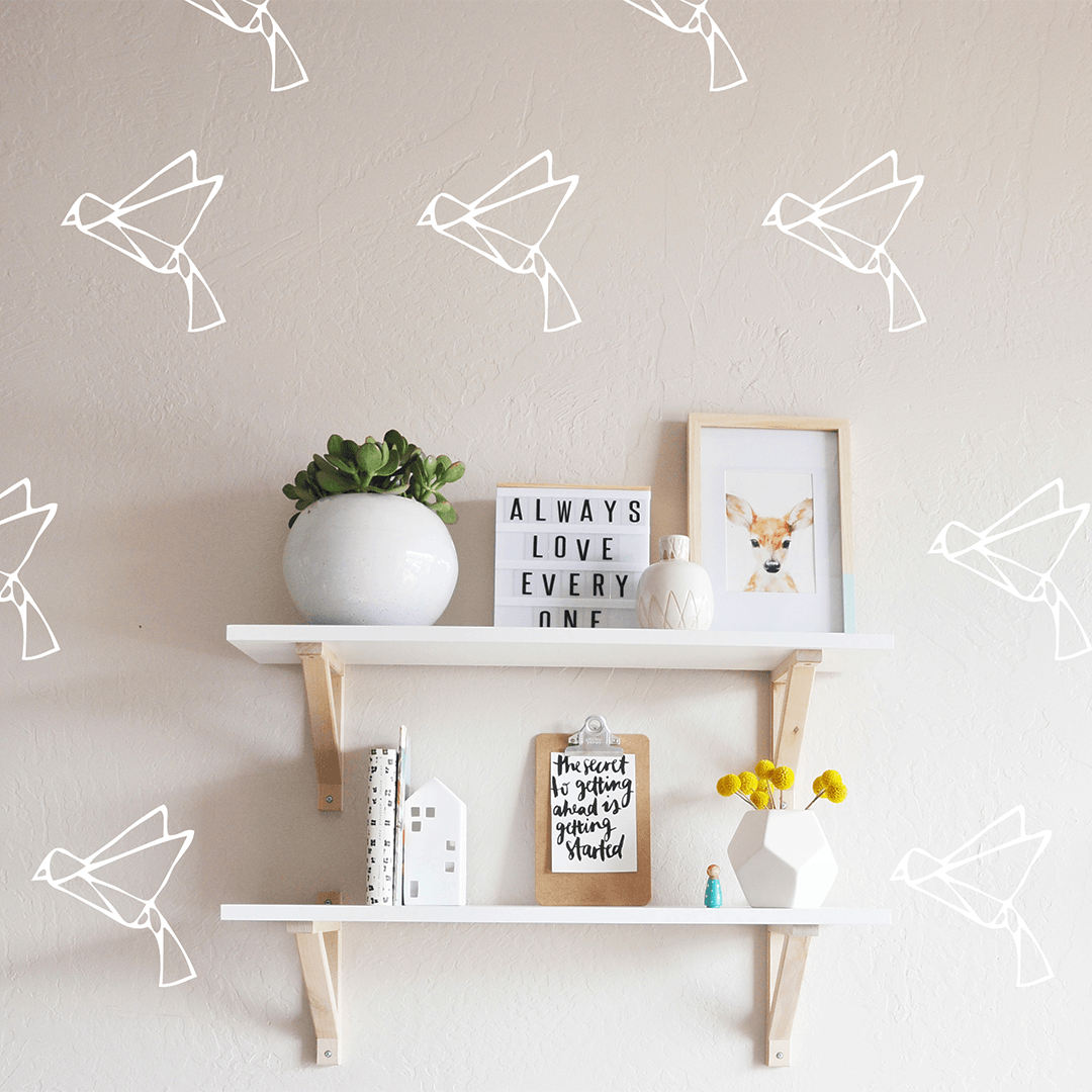 Origami Birds Wall Decal - Project Nursery