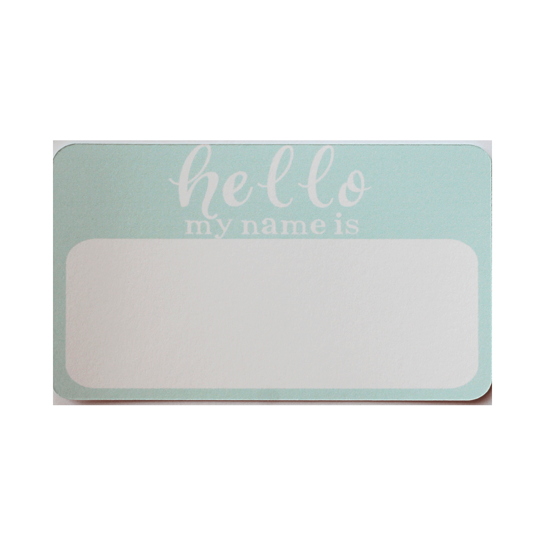 Birth Announcement Stickers - Project Nursery
