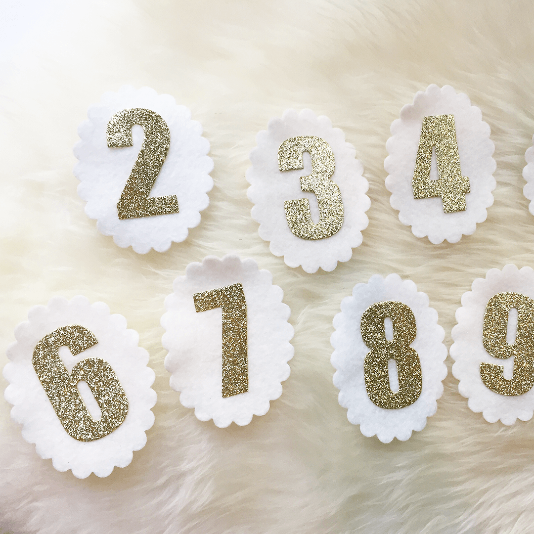Birthday Crown Numbers - Project Nursery