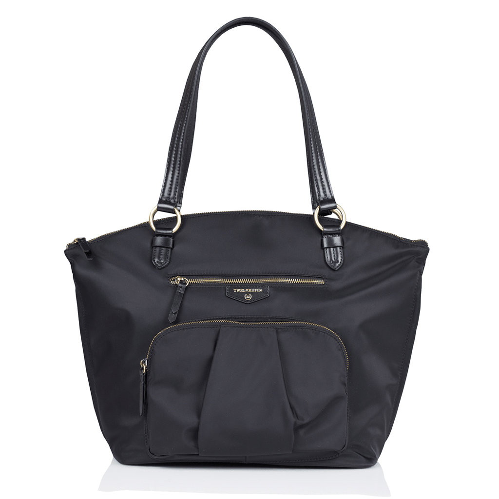 Allure Dome Satchel Black - The Project Nursery Shop - 1