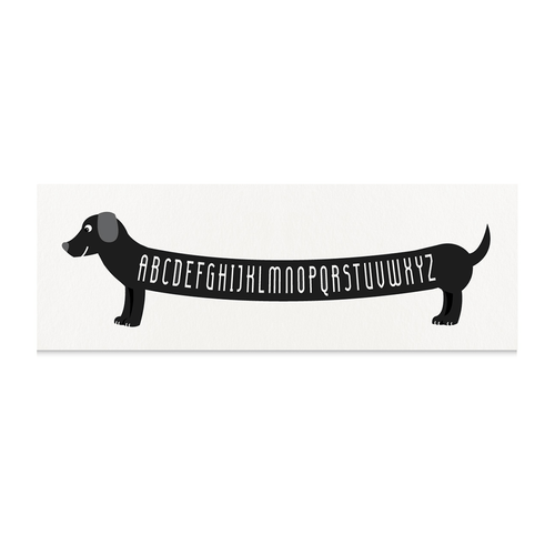 ABC Dachshund Art Print - Project Nursery