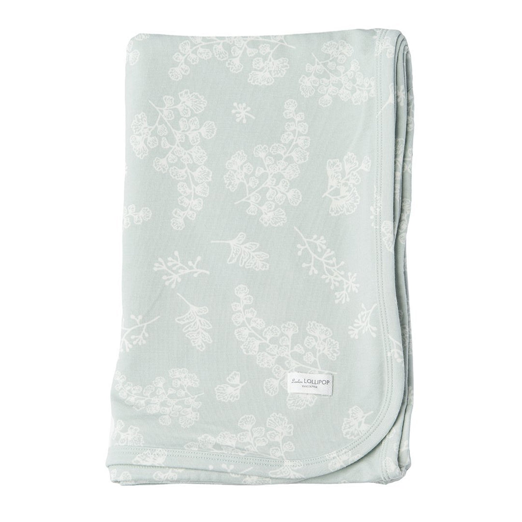 Fern Organic Stretch Knit Swaddle Blanket - Project Nursery