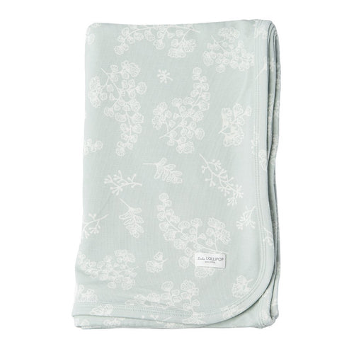 Fern Stretch Knit Swaddle Blanket - Project Nursery