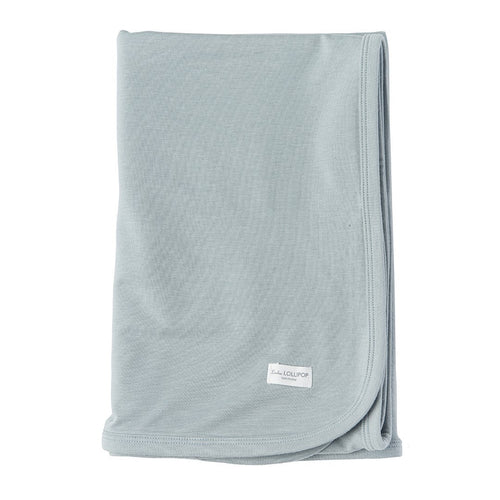 Slate Stretch Knit Swaddle Blanket - Project Nursery