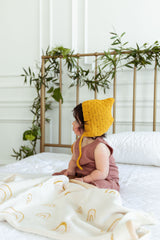 Honeycomb Bonnet - Project Nursery