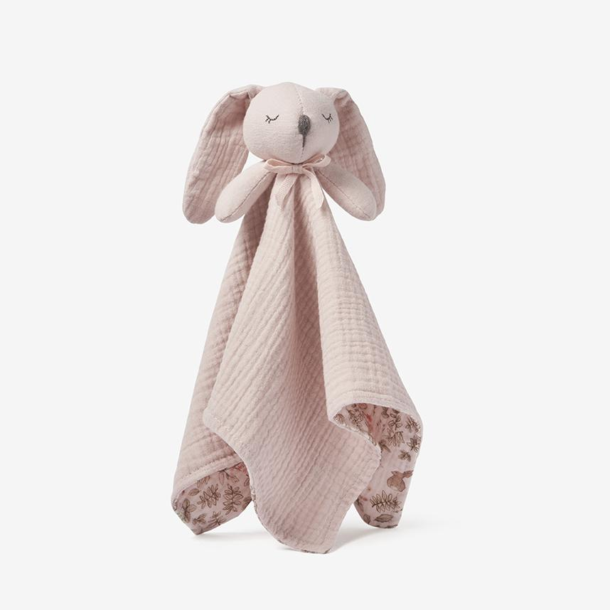 Blush Bunny Organic Baby Security Blanket - Project Nursery