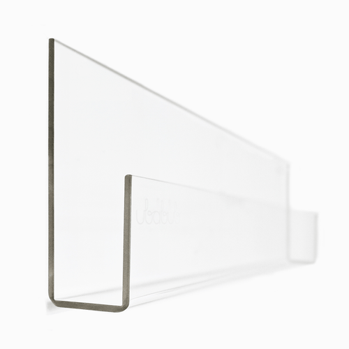 Booksee Clear Acrylic Wall Bookshelf Set - Project Nursery