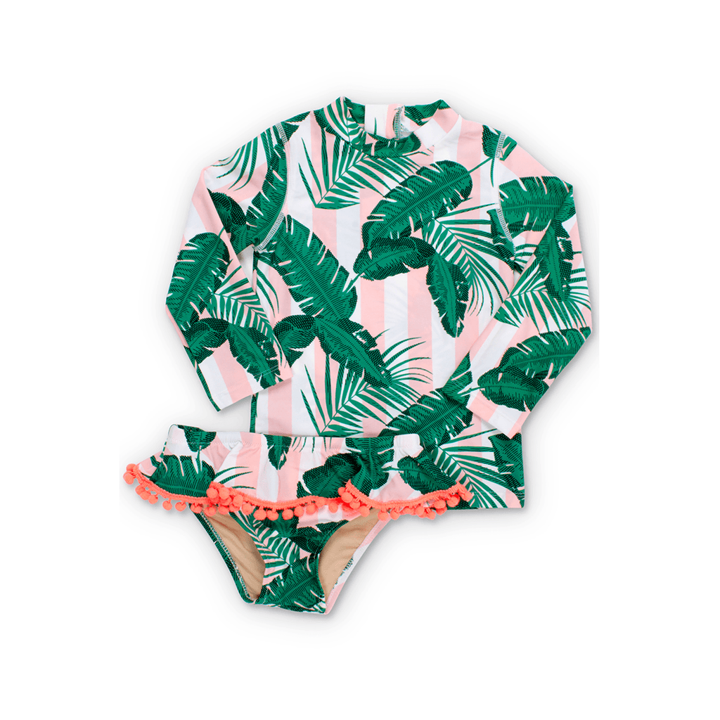 Botanical Rashguard Swimsuit Set - Project Nursery