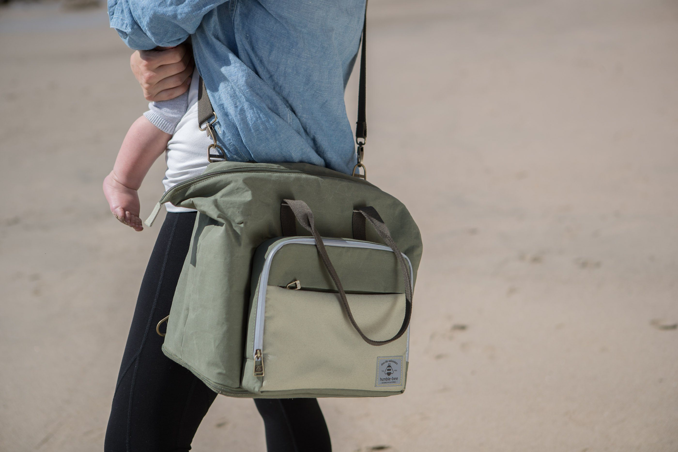 Boundless Charm Diaper Bag - Olive - Project Nursery
