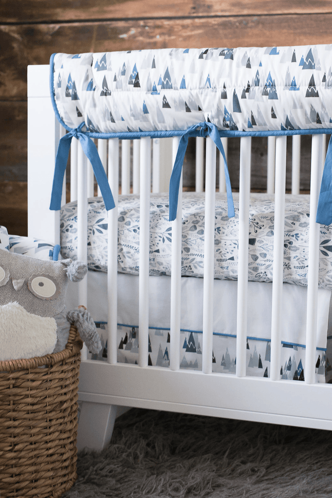 Blue Mountains Crib Rail Cover