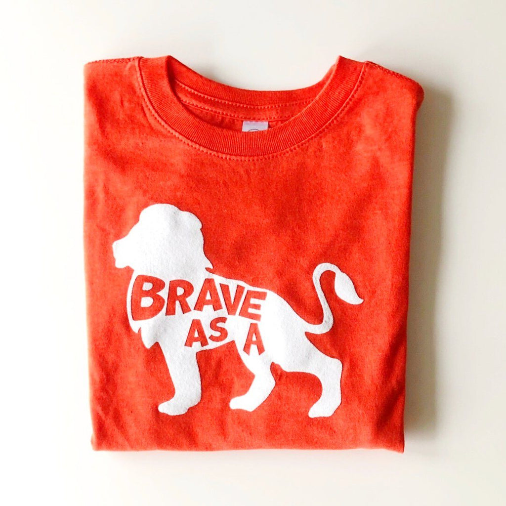 Brave Lion Tee - Project Nursery