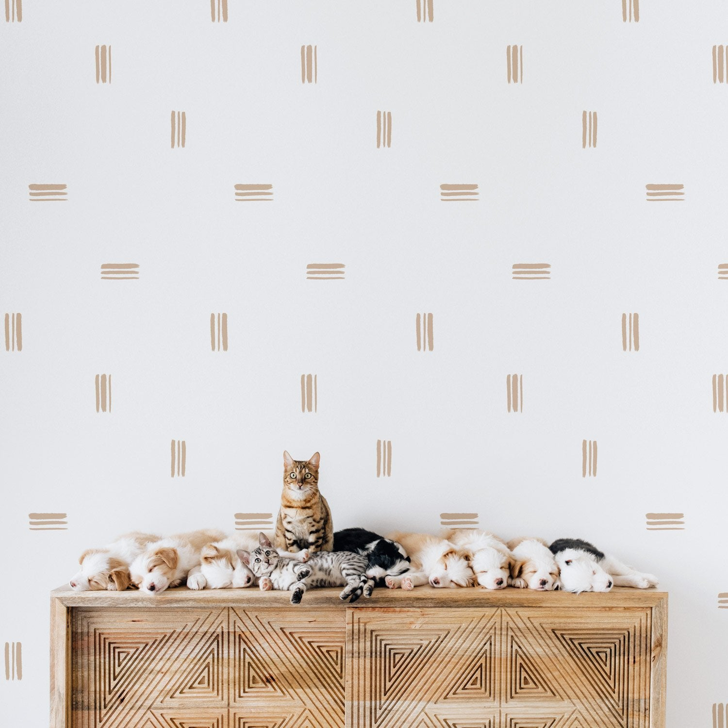 Brush Strokes Wallpaper - Project Nursery