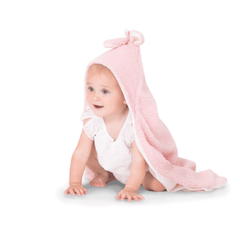 Bunny Hooded Blanket - Pink - Project Nursery