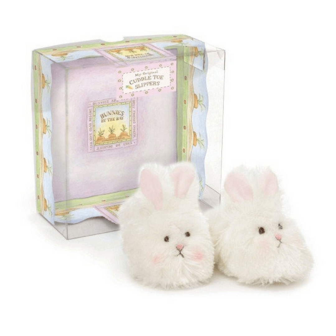 Bunny Cuddle Toe Slippers - Project Nursery