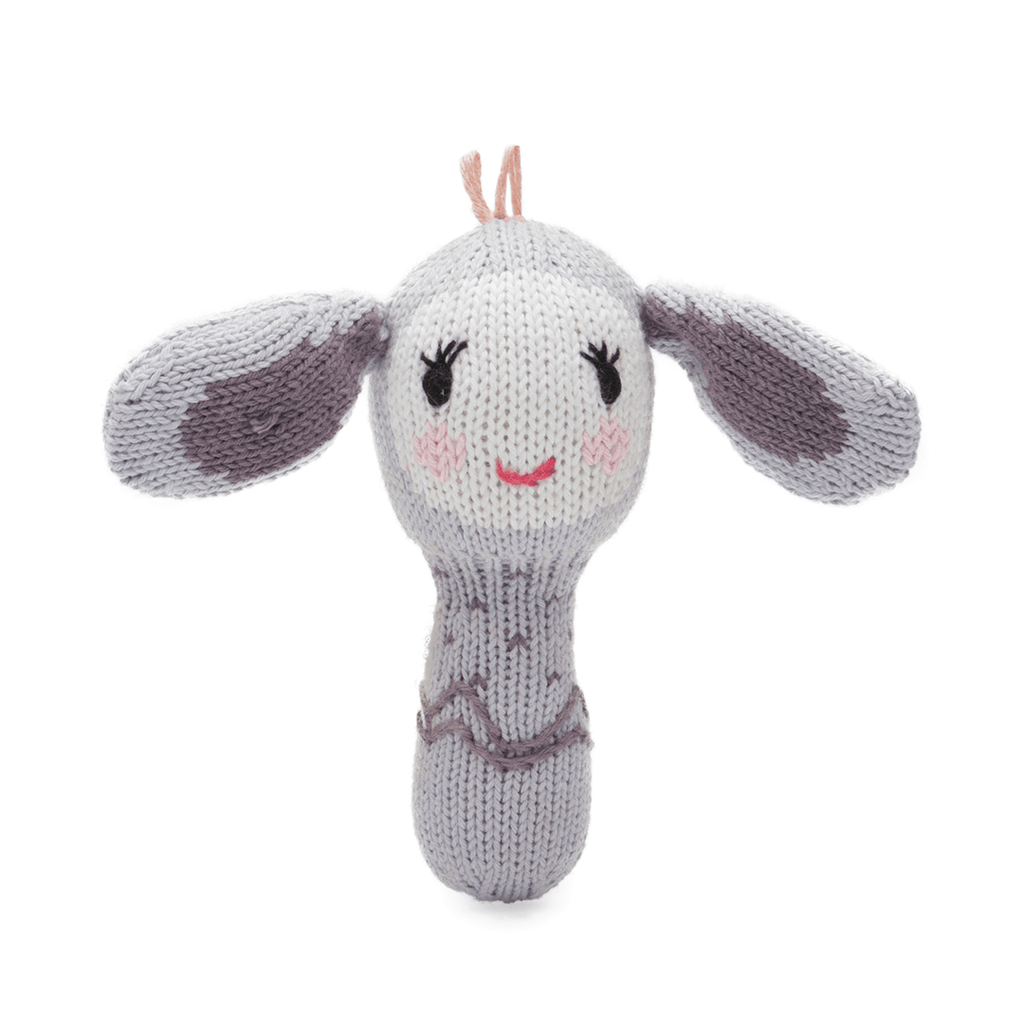 Mini Rattle - Belle the Bunny  - The Project Nursery Shop - 1