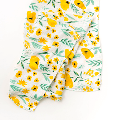 Buttercup Blossom Swaddle Blanket - Project Nursery