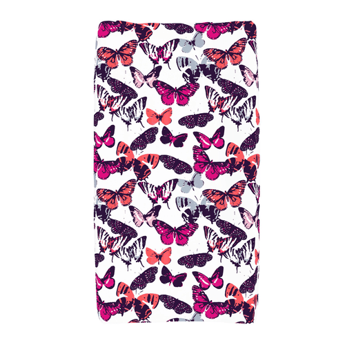 Butterfly Kisses Changing Pad Cover - Project Nursery