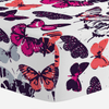 Butterfly Kisses Crib Sheet