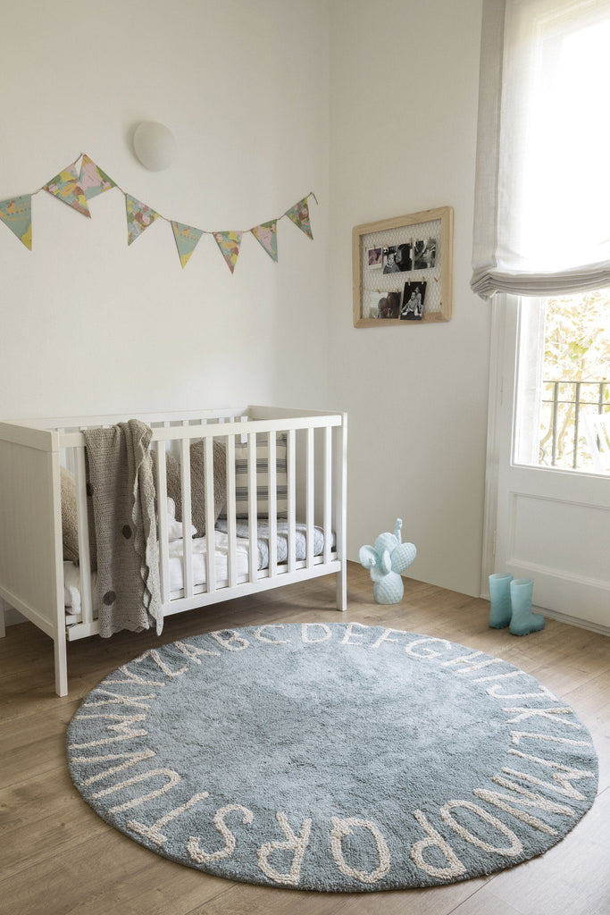 Round ABC Rug  - The Project Nursery Shop - 12