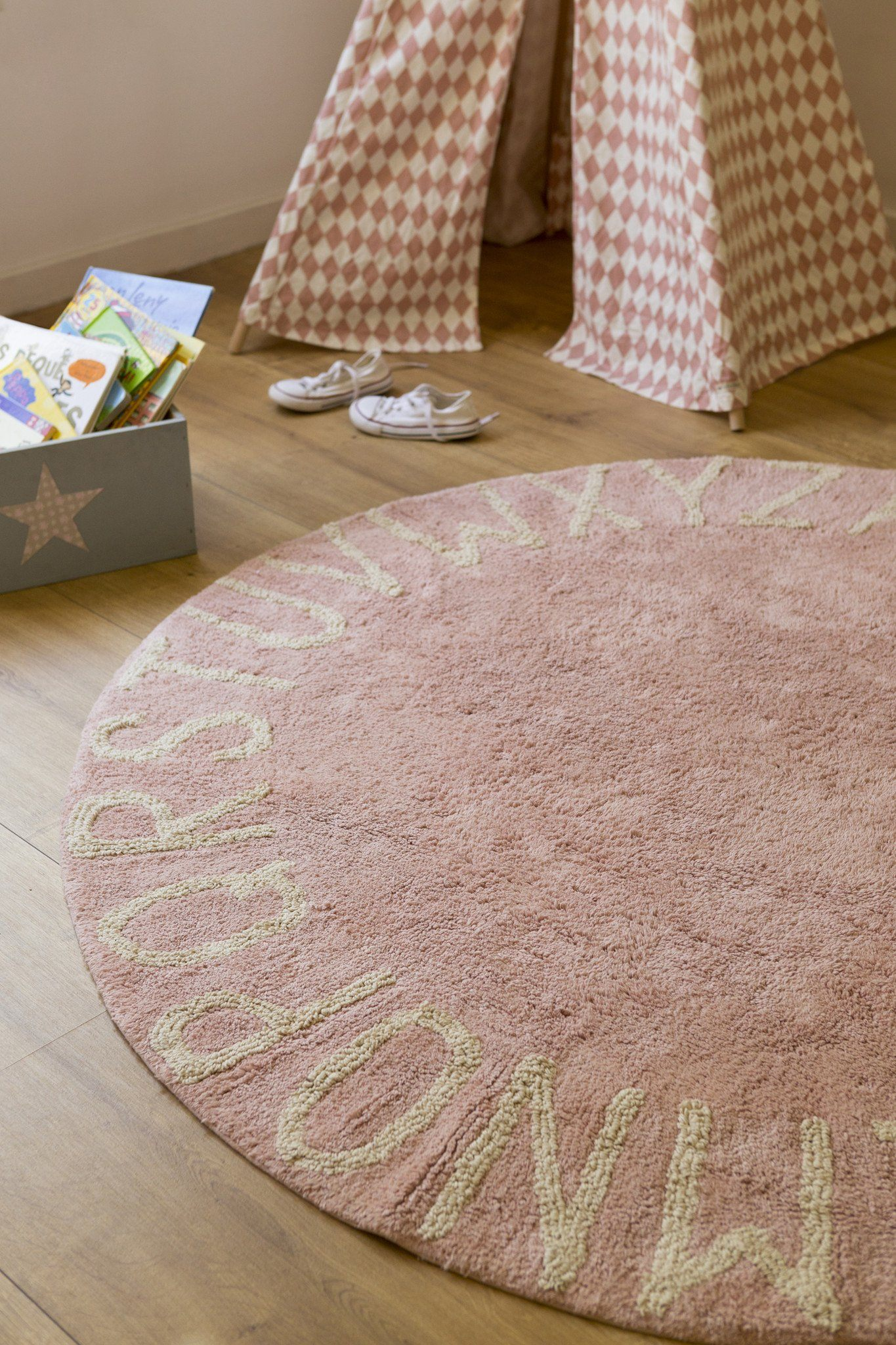 Picture of: Round Abc Rug Circle Alphabet Rug For Nursery Project Nursery