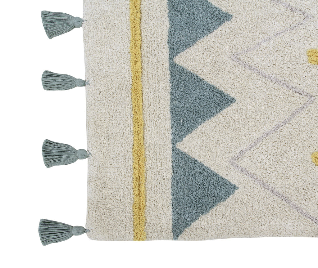 Azteca Natural Rug  - The Project Nursery Shop - 8