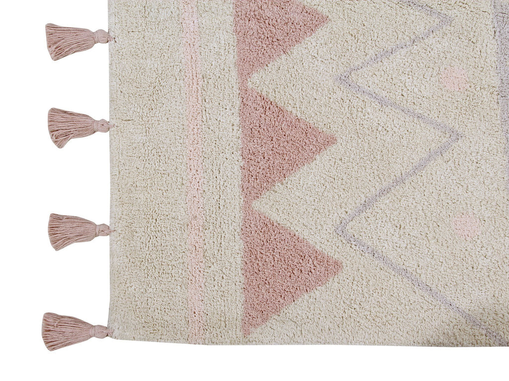 Azteca Natural Rug  - The Project Nursery Shop - 2