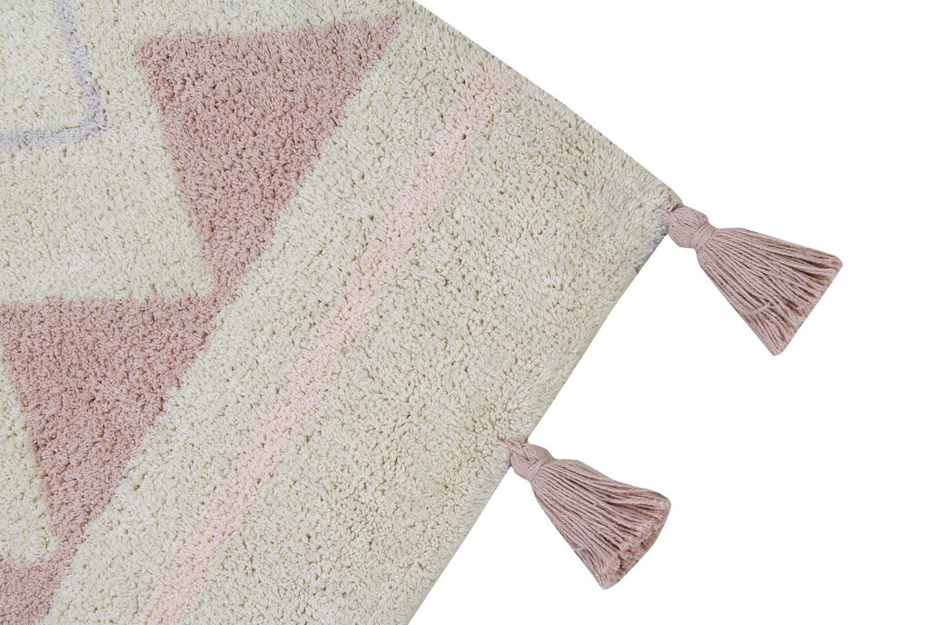 Azteca Natural Rug  - The Project Nursery Shop - 3