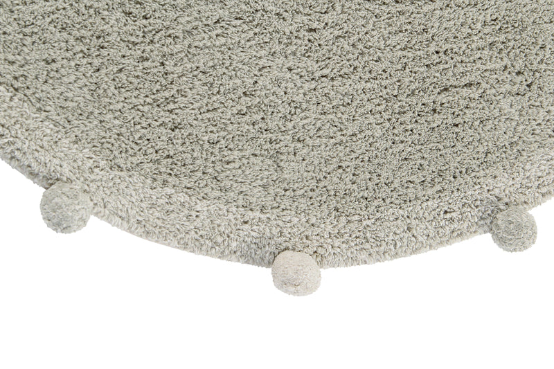 Bubbly Washable Rug - Olive - Project Nursery