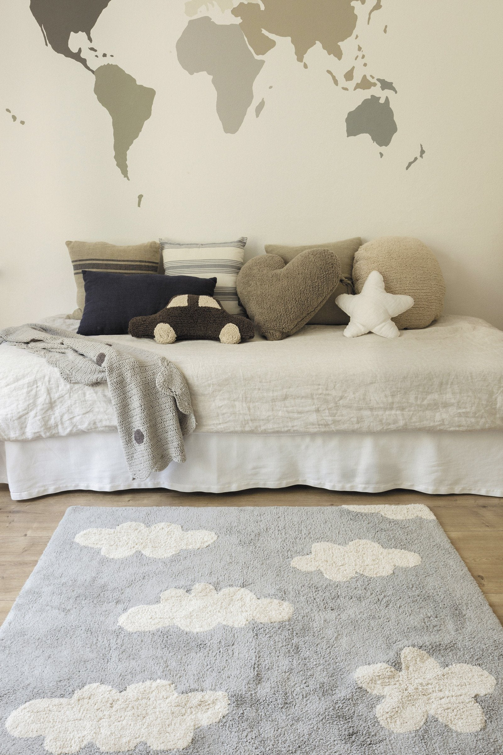Clouds Rug - Project Nursery