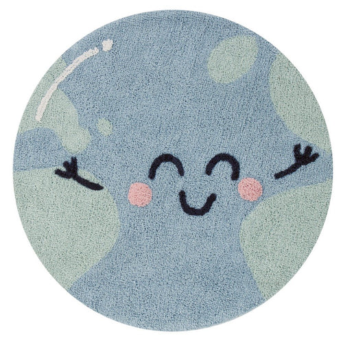 Big World Washable Rug - Project Nursery