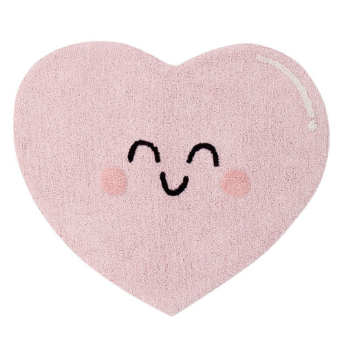 Happy Heart Washable Rug - Project Nursery