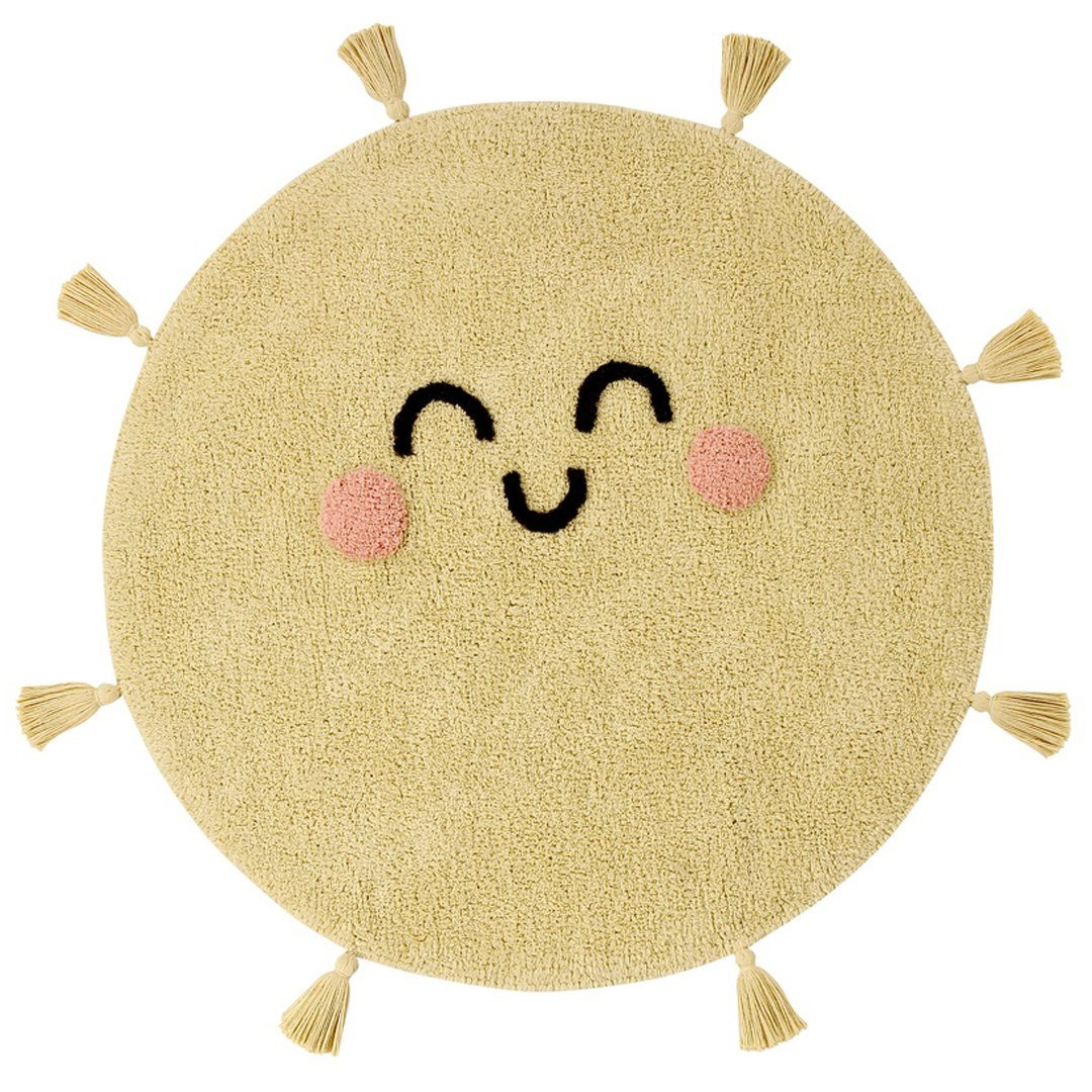 You're My Sunshine Washable Rug - Project Nursery