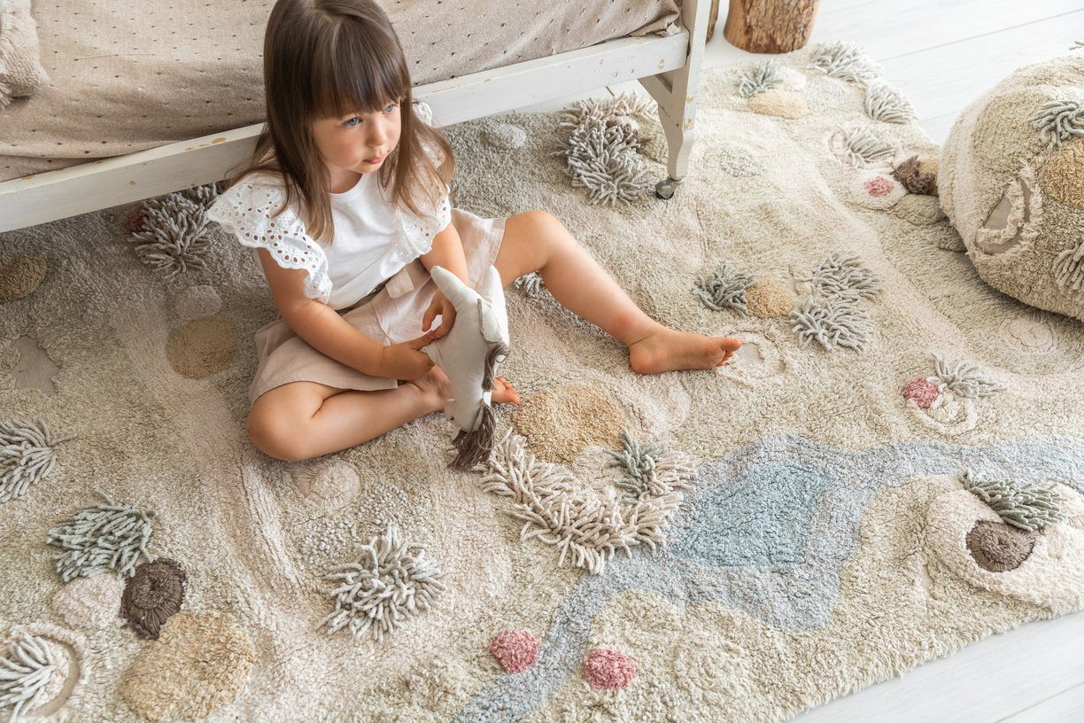 Path of Nature Washable Play Rug - Project Nursery
