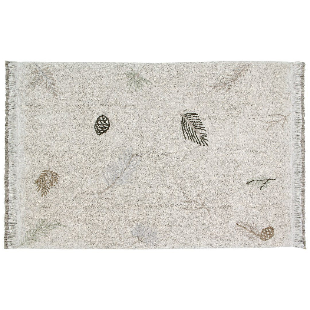 Pine Forest Washable Rug - Project Nursery