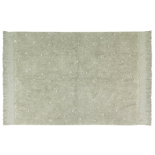 Woods Symphony Washable Rug - Olive - Project Nursery