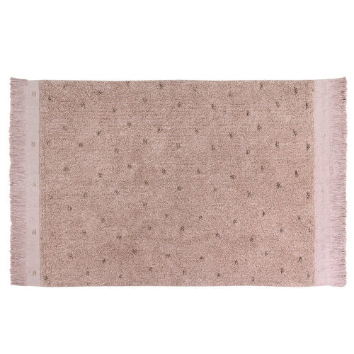 Woods Symphony Washable Rug - Vintage Nude - Project Nursery