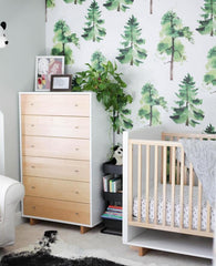Cedar Wallpaper - Project Nursery