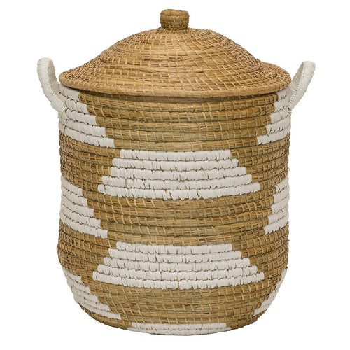 Clemente Lidded Basket - Project Nursery