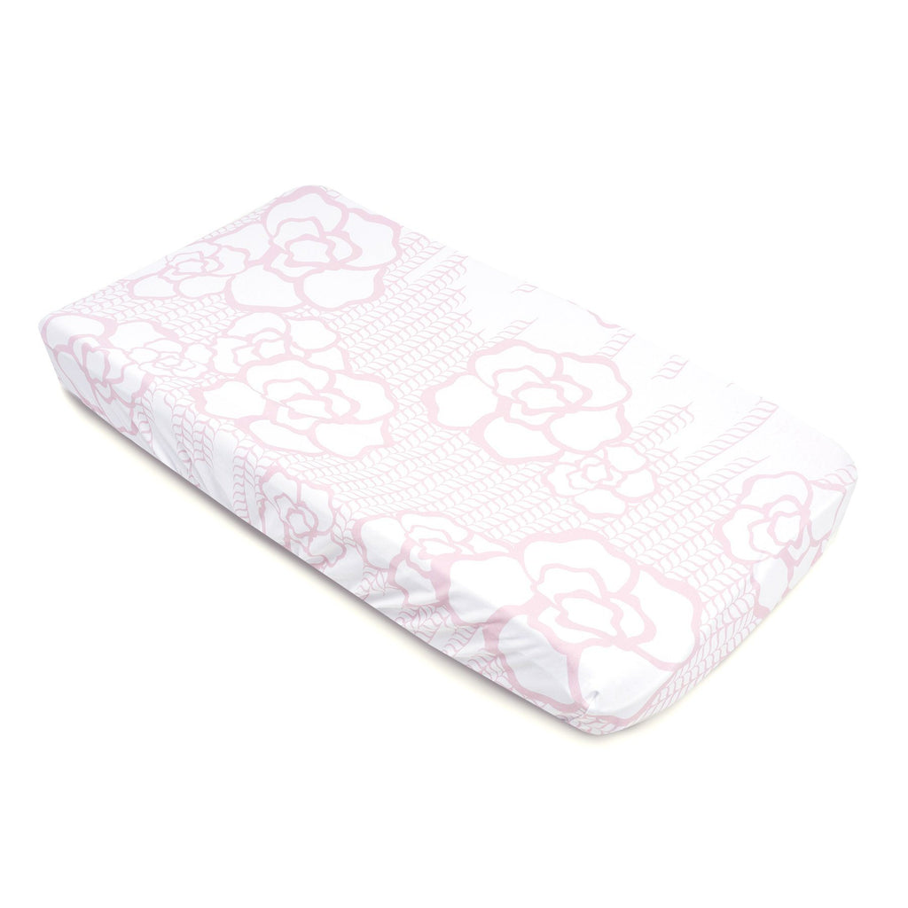 Capri Jersey Changing Pad Cover - Project Nursery