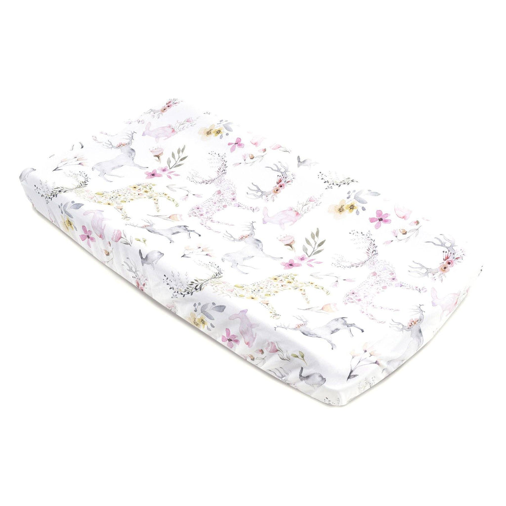 Fawn Jersey Changing Pad Cover - Project Nursery