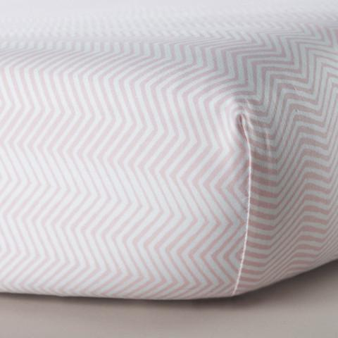 Zigzag Crib Sheet - Project Nursery