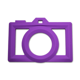 Silicone Camera Teether Purple - The Project Nursery Shop - 2