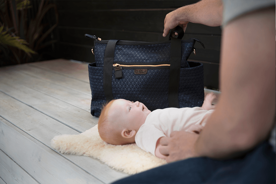 Cara Ultra Lite Carryall Diaper Bag - Project Nursery