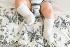 Gender Neutral Shoe Socks - 3 pack - Project Nursery