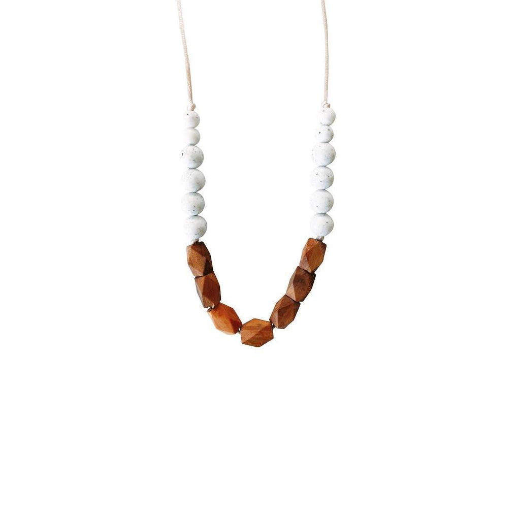 Harrison Moonstone Teething Necklace - Project Nursery