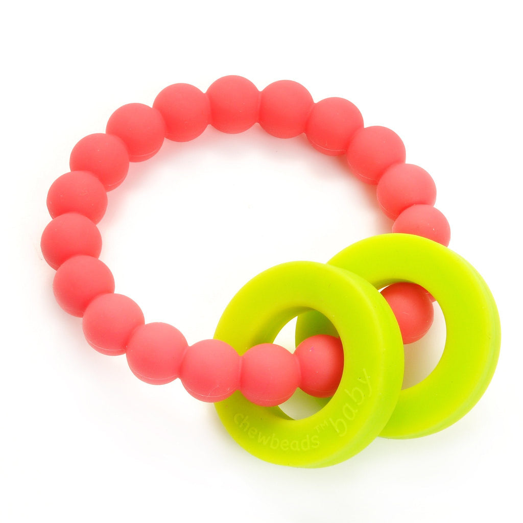 Baby Teether Pink - The Project Nursery Shop - 1