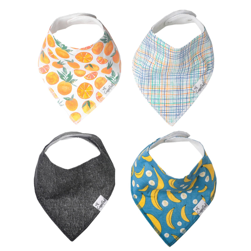 Citrus Baby Bandana Bib Set - Project Nursery