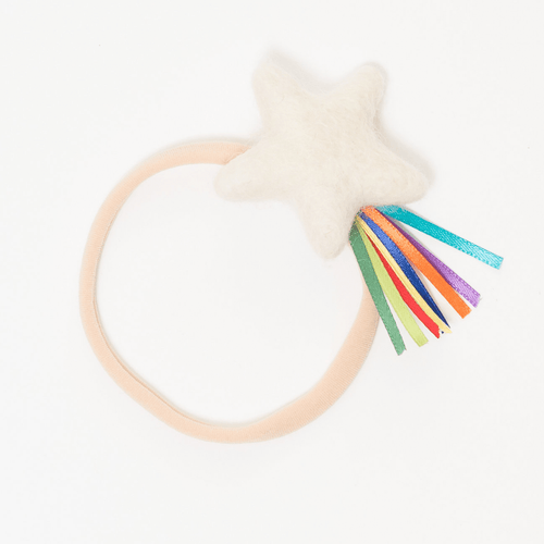 Classic Bright Rainbow Sparkler Star Headband - Project Nursery